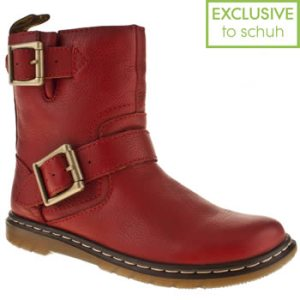 Option 4 - Red Doc Martins, but without all the laces.