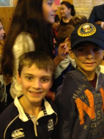 Gregor and Aran